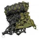 Камуфляжная сетка 2х3 метра, зеленого/черного цвета, с ПВХ чехлом