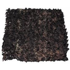 Охотничья маскировочная сеть 2х3 метра темно-коричневого цвета, с ПВХ чехлом