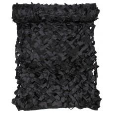 Камуфляжная сетка 2х3 м черного цвета с чехлом