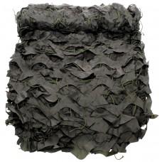 Камуфляжная сетка темно-серого цвета, 2x3 метра, с чехлом