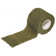 Камуфляжная лента, самоклеящиеся , 5 см х 4,5 м, зеленая