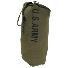 Американский армейский вещевой мешок, с ремнем для переноски, зеленый