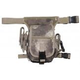 Набедренная сумка, камуфляж, фиксируется на ноге и поясе