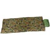 Израильский спальный мешок для пилота, лесной камуфляж, 2-слойный