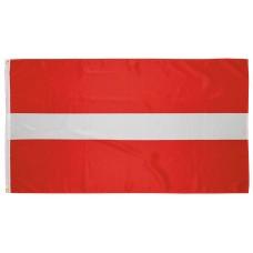 Флаг Латвии, 90x150 см