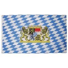 Флаг Баварии со львом, 90x150 см