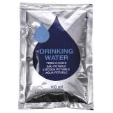 Аварийный запас питьевой воды, 5 шт по 100 мл