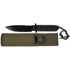 Нож с фиксированным лезвием, черный