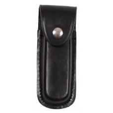 Чехол для ножа, кожаный, черный, длина: 13 см