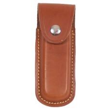Чехол для ножа, кожаный, коричневый, длина: 13 см