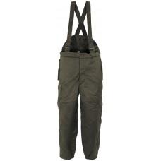 Австрийские утепленные штаны на подтяжках, зеленые, новые