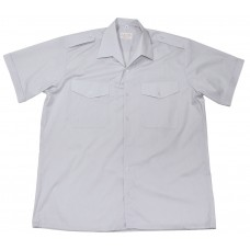 Австрийская рубашка, серая, погоны, новая