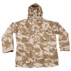 Ветрозащитная английская куртка, цвет камуфляж пустыни, новая
