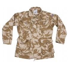 Куртка армии Великобритании, цвет — камуфляж пустыни, новая
