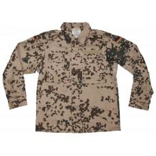Рубашка Бундесвер, тропический камуфляж Tropentarn, новая