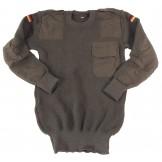Зеленый пуловер Бундесвер, оригинальный, размер 48, новый