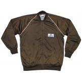 Итальянский спортивный костюм - куртка и брюки, коричневый, новый