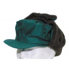 Австрийская зимняя шапка, зеленая, новая