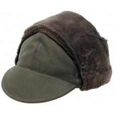 Зимняя шапка Бундесвер, зеленая, оригинальная, новая