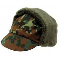 Зимняя шапка Бундесвер, камуфляж, оригинальная, новая