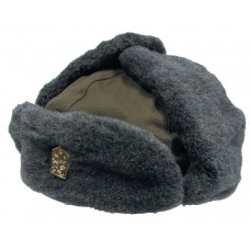 Чешская зимняя шапка, зеленая