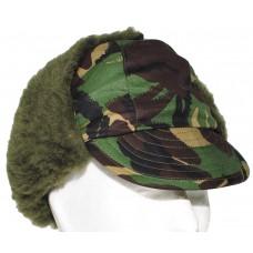 Английская зимняя шапка, камуфляж, новая