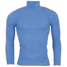 Рубашка с вырезом, Австрия, ООН, ярко-синяя, новая