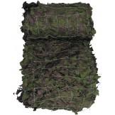 Маскировочная сеть, английская, цвет woodland, 9 x 9 м, как новая