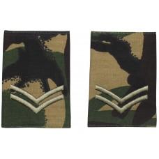 Британские погоны капрала, цвет DPM, 10 пар