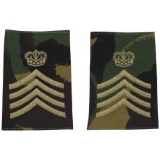Британские погоны майора, цвет DPM, 10 пар