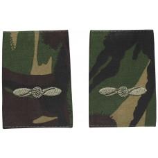 Британские погоны Leading Aircraftman, цвет DPM, 10 пар