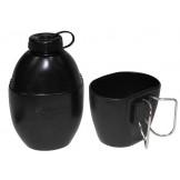 Британская посуда с кружкой черного цвета